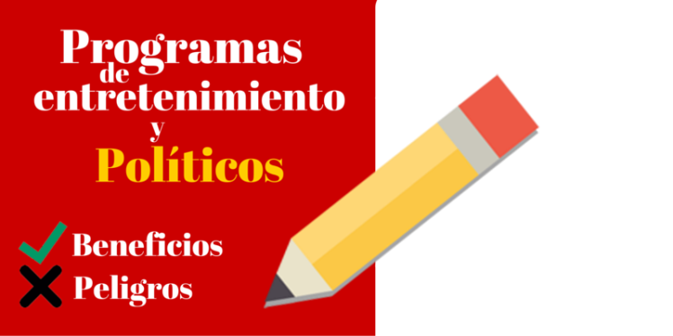 Programas de entretenimiento y políticos